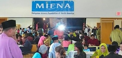 Hari Raya celebrations organized by the Malaysian Islamic Foundation of North America (MIFNA), a voluntary, non-profit organization which strives to create a sense of community in California.