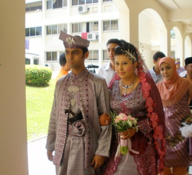 Singapore Malay wedding