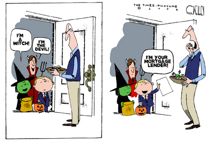 Cartoon courtesy of Steve Kelley and The Times-Picayune.