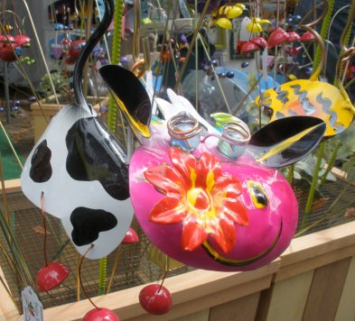 cow garden ornament
