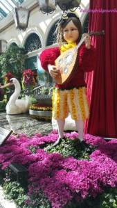 bellagio troubadour floral dispaly